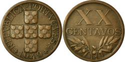 World Coins - Coin, Portugal, 20 Centavos, 1949, , Bronze, KM:584
