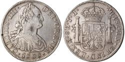 World Coins - Coin, Mexico, Charles IV, 8 Reales, 1808, Mexico City, , Silver, KM:109