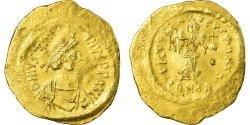 Coin, Justinian I, Tremissis, 527-565 AD, Constantinople, , Gold