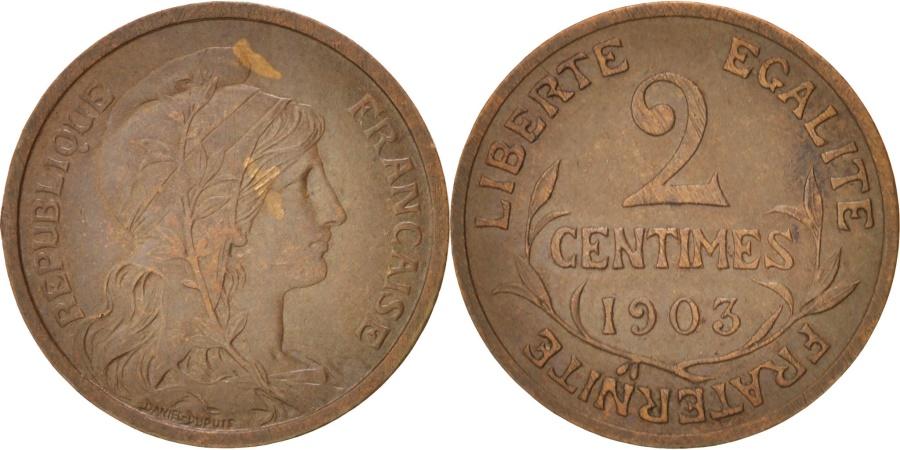 World Coins - France, Dupuis, 2 Centimes, 1903, Paris, KM:841