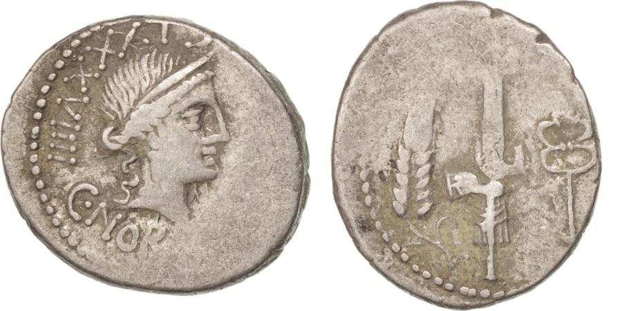 Ancient Coins - Norbana, Denarius, Rome, , Silver, 4.21