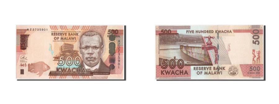 World Coins - Malawi, 500 Kwacha, 2014, KM:New, UNC