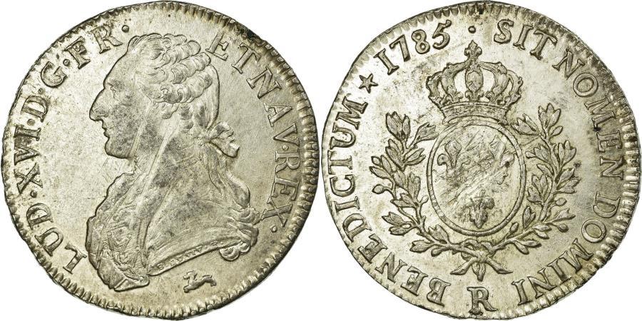 World Coins - Coin, France, Louis XVI, Écu aux branches d'olivier, Ecu, 1785, Orléans