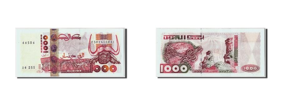 World Coins - Algeria, 1000 Dinars, 1998 (2000), KM:142b, 1998-10-06, UNC(65-70)