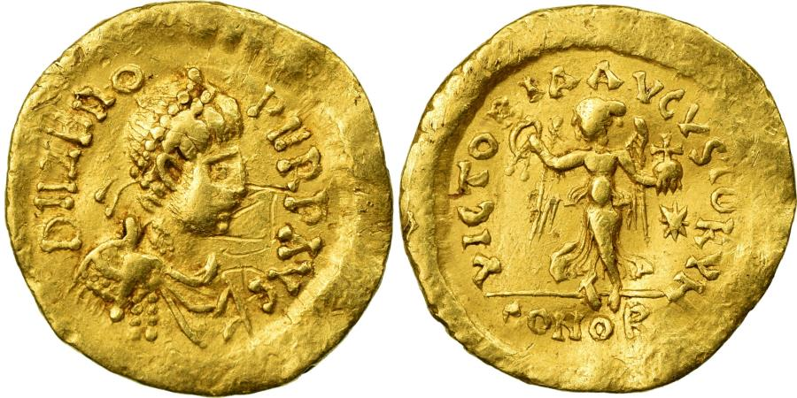Ancient Coins - Coin, Zeno, Tremissis, 476-491, Constantinople, , Gold, RIC:915