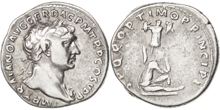 Ancient Coins - Trajan (98-117), Denarius, RIC 223