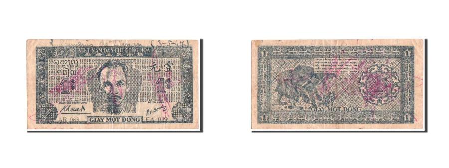 World Coins - Vietnam, 1 Dong, 1947, KM:9a