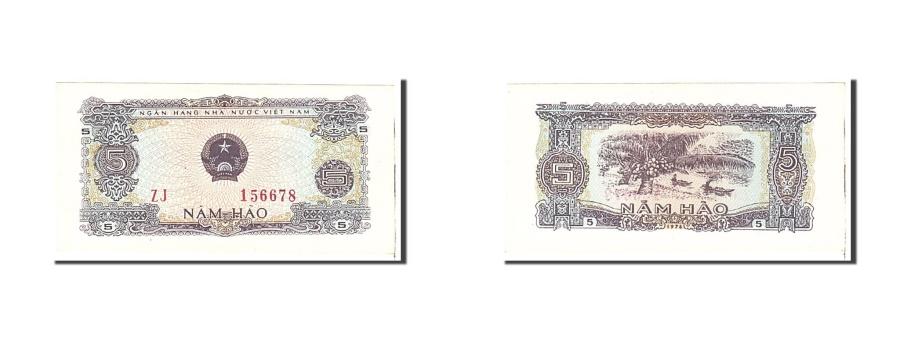 World Coins - Vietnam, 5 Hao, 1976, KM:79a, Undated, UNC(63)