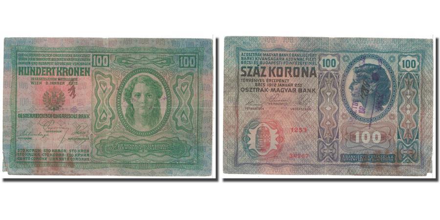 World Coins - Banknote, Austria, 100 Kronen, 1912, 1912-01-02, KM:12, EF(40-45)