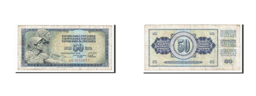 World Coins - Yugoslavia, 50 Dinara, 1968, KM #83b, 1968-05-01, VF(20-25), AD3650857