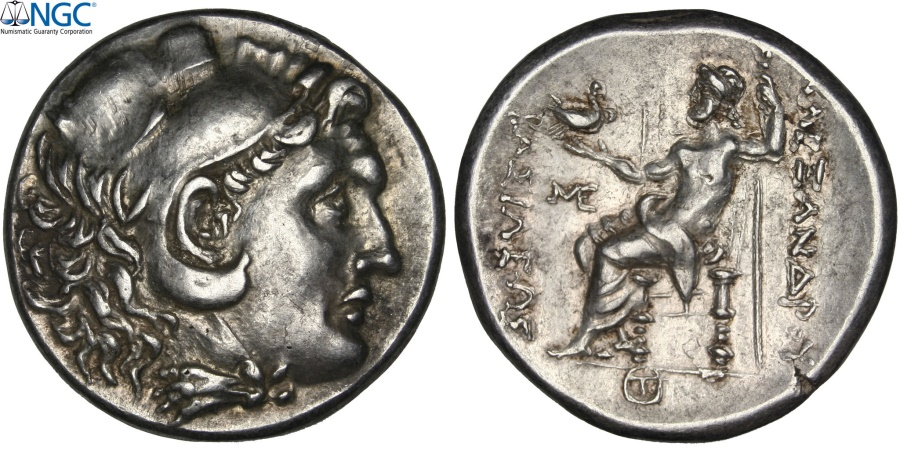 Ancient Coins - Black Sea, Alexander III The Great, Tetradrachm, NGC Ch AU 5/5