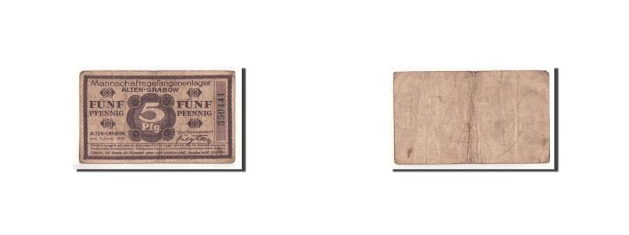 World Coins - Germany, Alten Grabow, 5 Pfennig, graphique, 1916, 1916-06-01, VF(20-25)