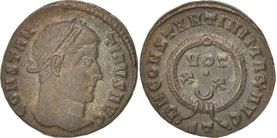 Ancient Coins - Constantine Ist (306-337), Follis, Ticinum, RIC 167s