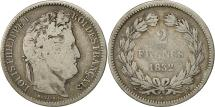 World Coins - Coin, France, Louis-Philippe, 2 Francs, 1832, Rouen, VG(8-10), Silver, KM:743.2
