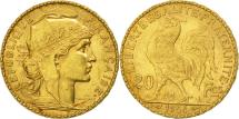 World Coins - France, Marianne, 20 Francs, 1904, Paris, AU(50-53), Gold, KM:847, Gadoury:1064