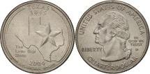 Us Coins - United States, Quarter, 2004, U.S. Mint, Philadelphia, AU(55-58), KM 357