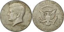 Us Coins - Coin, United States, Kennedy Half Dollar, 1969, Denver, AU(50-53), KM 202a