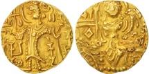 Kidara Kushanshah, Dinar, 365-390, AU(50-53), Gold