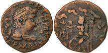 Ancient Coins - Coin, Baktrian Kingdom, Hermaios, Tetradrachm, 40-1 BC, EF(40-45), Bronze