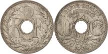 France, Lindauer, 10 Centimes, 1938, AU(50-53), Copper-nickel, KM:866a