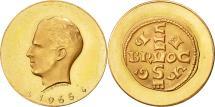 World Coins - Belgium, Medal, Millénaire de l'atelier de Bruxelles, 1965, MS(65-70), Gold