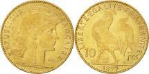 World Coins - France, Marianne, 10 Francs, 1899, Paris, EF(40-45), Gold, KM:846, Gadoury:1017
