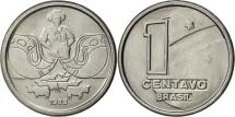 World Coins - Brazil, Centavo, 1989, AU(55-58), Stainless Steel, KM:611