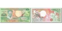 Surinam, 25 Gulden, 1986-1988, KM:132b, 1988-01-09, UNC(63)