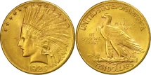 Us Coins - United States, Indian Head, $10, 1926, Philadelphia, AU(55-58), Gold, KM:130