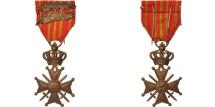 World Coins - Belgium, Croix de Guerre, Politics, Society, War, Medal, XXth Century, Very Good