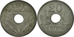 World Coins - Coin, France, État français, 20 Centimes, 1944, Paris, , Zinc