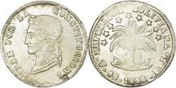 World Coins - Coin, Bolivia, 4 Soles, 1856, Potosi, , Silver, KM:123.2