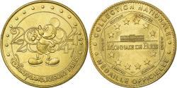 World Coins - France, Token, Touristic token, Disneyland n°2 - Mickey 2004, Arts & Culture