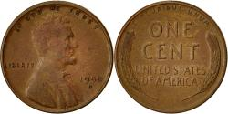 Us Coins - Coin, United States, Lincoln Cent, Cent, 1950, U.S. Mint, Denver,