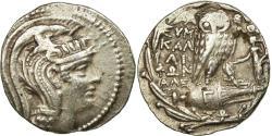 Ancient Coins - Coin, Attica, Athens, Tetradrachm, 106/5 BC, Athens, , Silver
