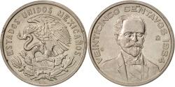 World Coins - Mexico, 25 Centavos, 1964, Mexico City, , Copper-nickel, KM:444