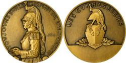World Coins - France, Medal, Les Cuirassiers, Politics, Society, War, Lavrillier,