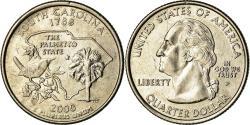 Us Coins - Coin, United States, South Carolina, Quarter, 2000, U.S. Mint, Philadelphia