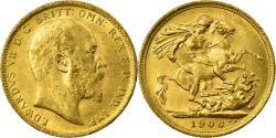 World Coins - Coin, Australia, Edward VII, Sovereign, 1906, Sydney, , Gold, KM:15
