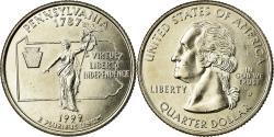Us Coins - Coin, United States, Pennsylvania, Quarter, 1999, U.S. Mint, Denver,