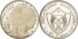 World Coins - Coin, FUJAIRAH, Muhammad bin Hamad al-Sharqi, 10 Riyals, 1969, , Silver