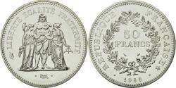 World Coins - Coin, France, Hercule, 50 Francs, 1980, Paris, MS(65-70), Silver, KM:941.1