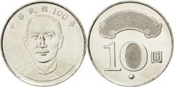 World Coins - CHINA, REPUBLIC OF, 10 Yuan, 2011, KM #574, , Copper-Nickel, 26, 7.49