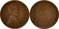 Us Coins - Coin, United States, Lincoln Cent, Cent, 1949, U.S. Mint, Philadelphia