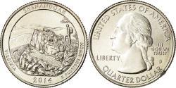 Us Coins - Coin, United States, Quarter, 2014, U.S. Mint, Denver,