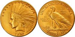 Us Coins - Coin, United States, Indian Head, $10, Eagle, 1932, U.S. Mint, Philadelphia