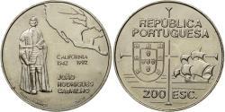 World Coins - Coin, Portugal, 200 Escudos, 1992, , Copper-nickel, KM:661