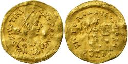 Coin, Justinian II, Tremissis, Constantinople, , Gold, Sear:145
