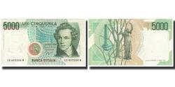 World Coins - Banknote, Italy, 5000 Lire, KM:111a, UNC(65-70)