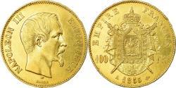 World Coins - Coin, France, Napoleon III, Napoléon III, 100 Francs, 1855, Paris,
